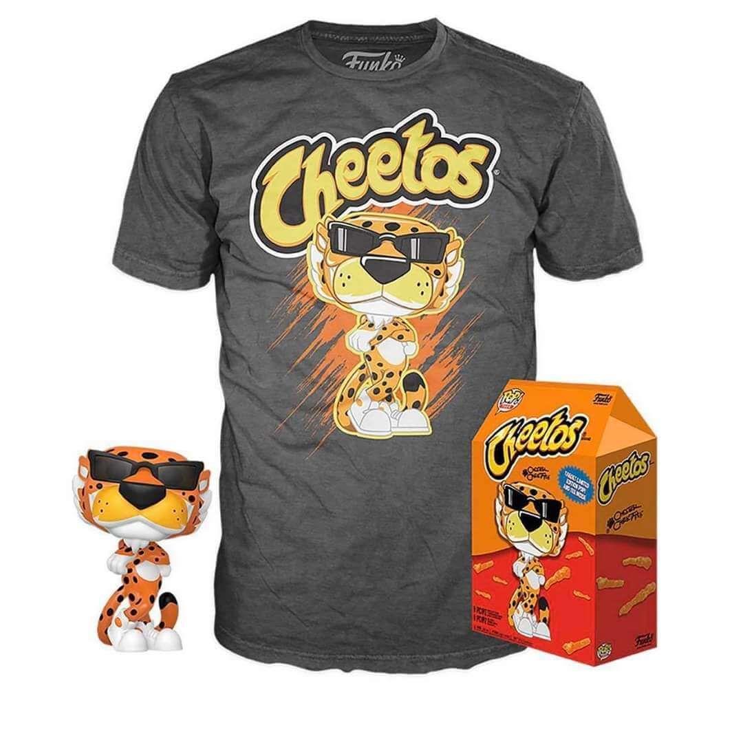 Pack Funko Cheetos + camiseta