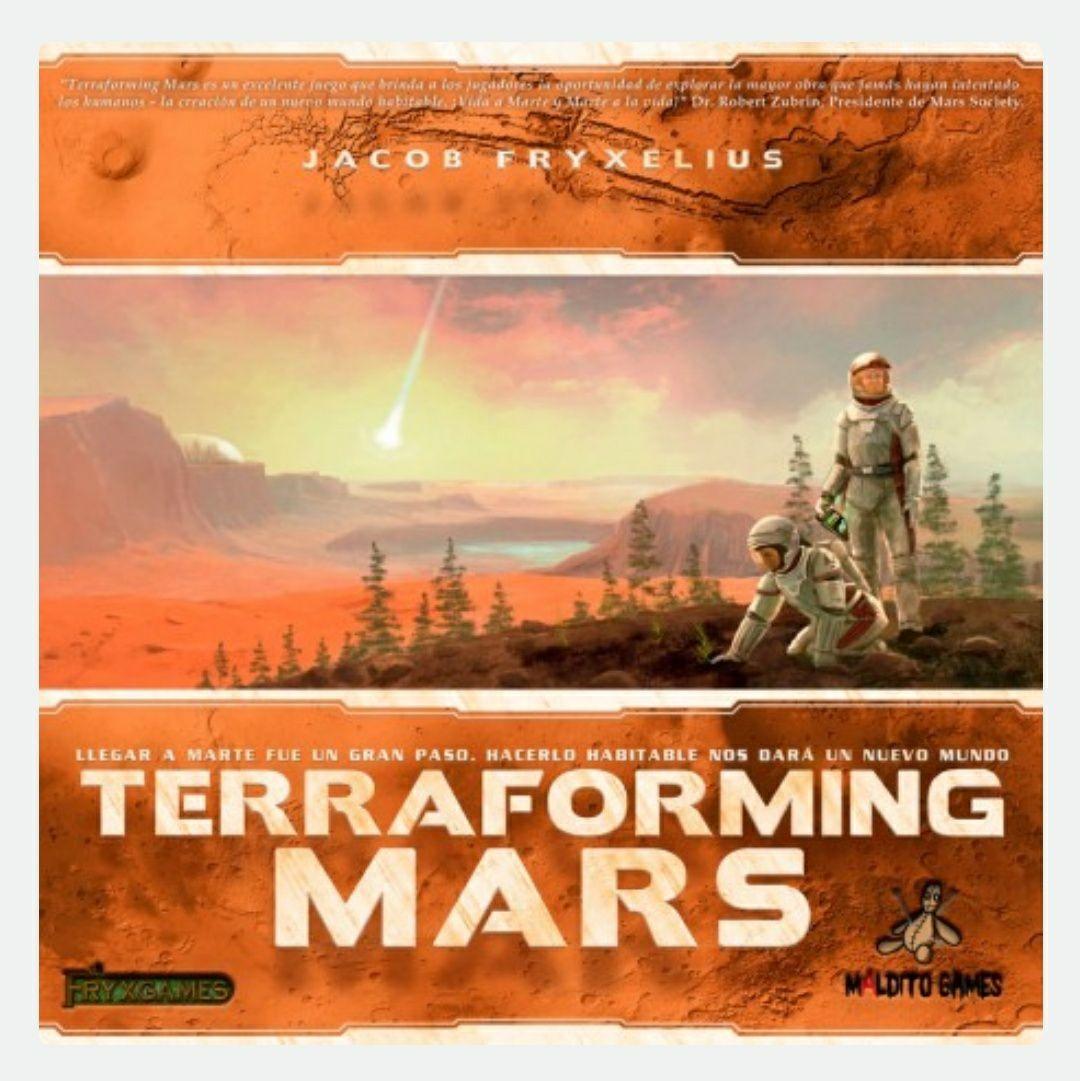 Terraforming Mars con 15% y envio gratis