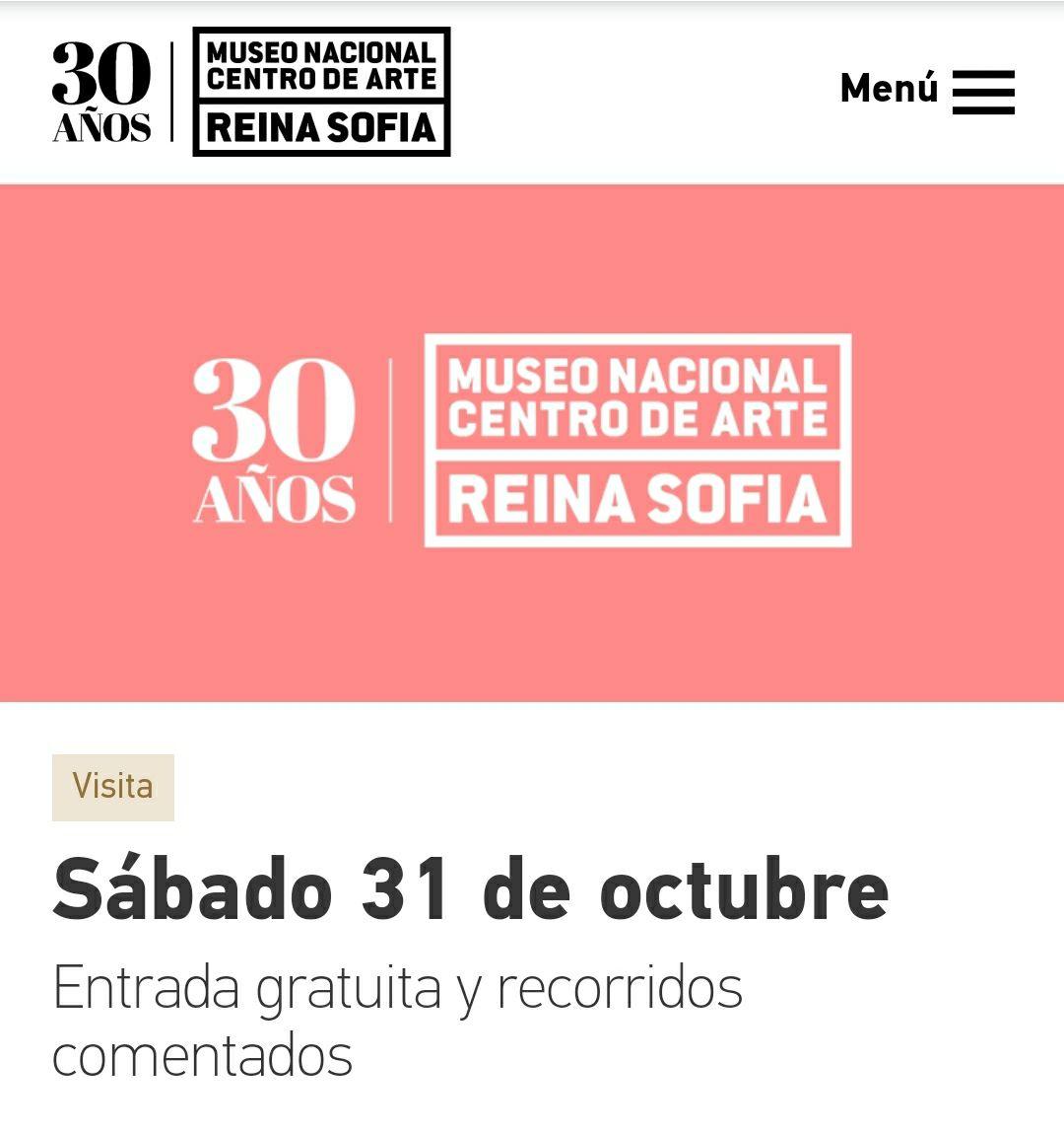 Museo Reina Sofía: Entrada y recorridos comentados gratis