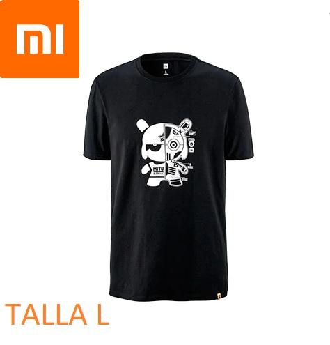 Xiaomi CAMISETA T-shirt - NEGRA TALLA - L y 2XL