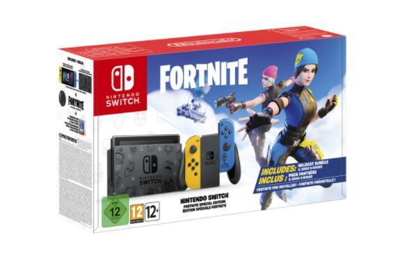 Nintendo Switch edición Fortnite + juego a elegir por 20€ en ECI
