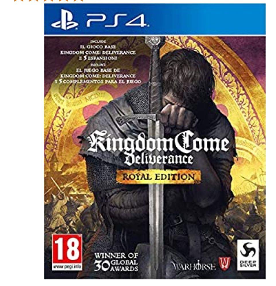 Kingdom Come: Deliverance - Royal Edition (Ed.Completa) - PS4