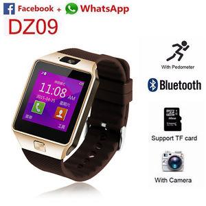 Bluetooth DZ09 Reloj Watch Inteligente GSM SIM Tarjeta Cámara para Android IOS