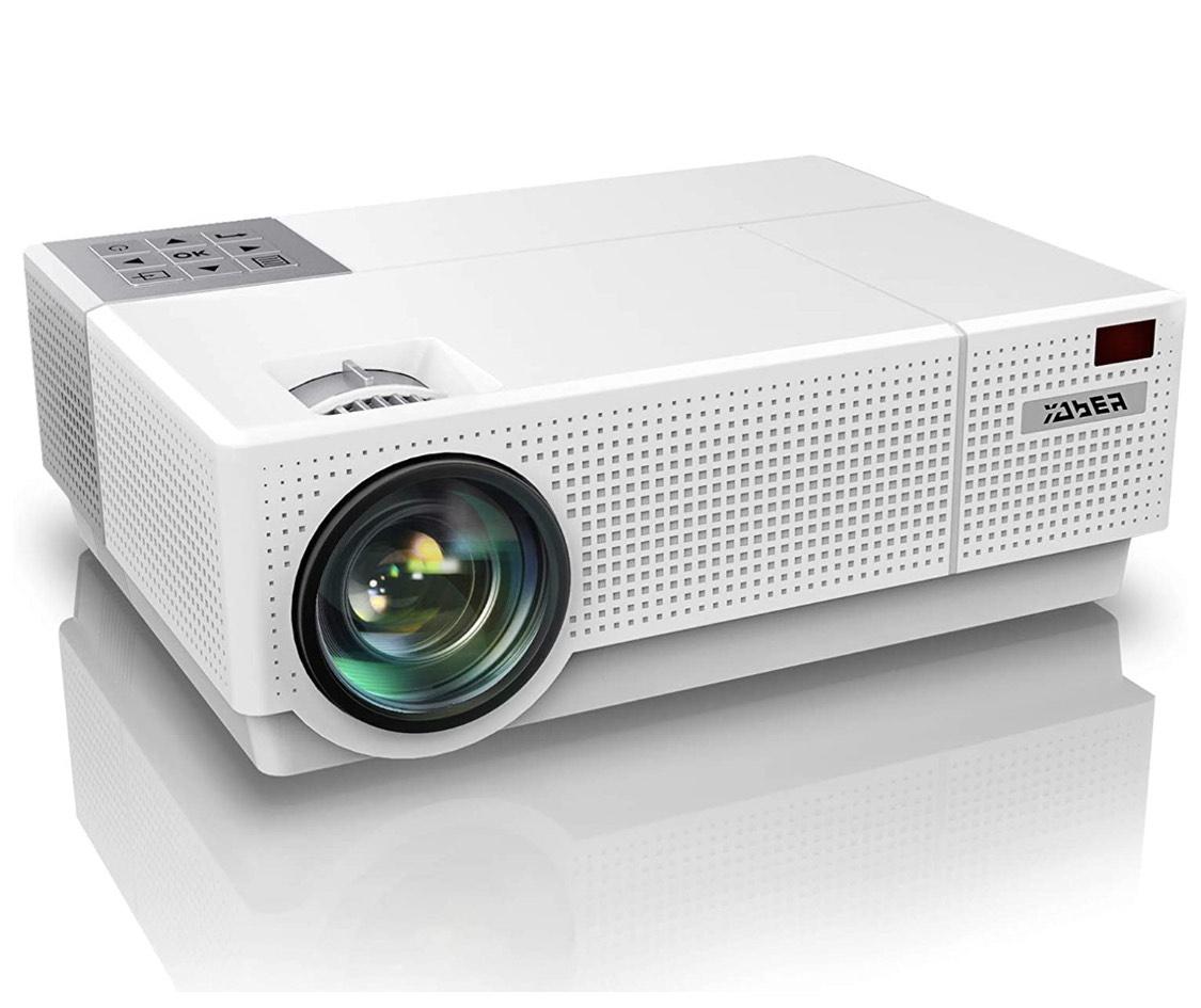 Proyector, YABER 7000 Lúmenes Proyector Full HD 1920x1080P Nativo Soporta 4K