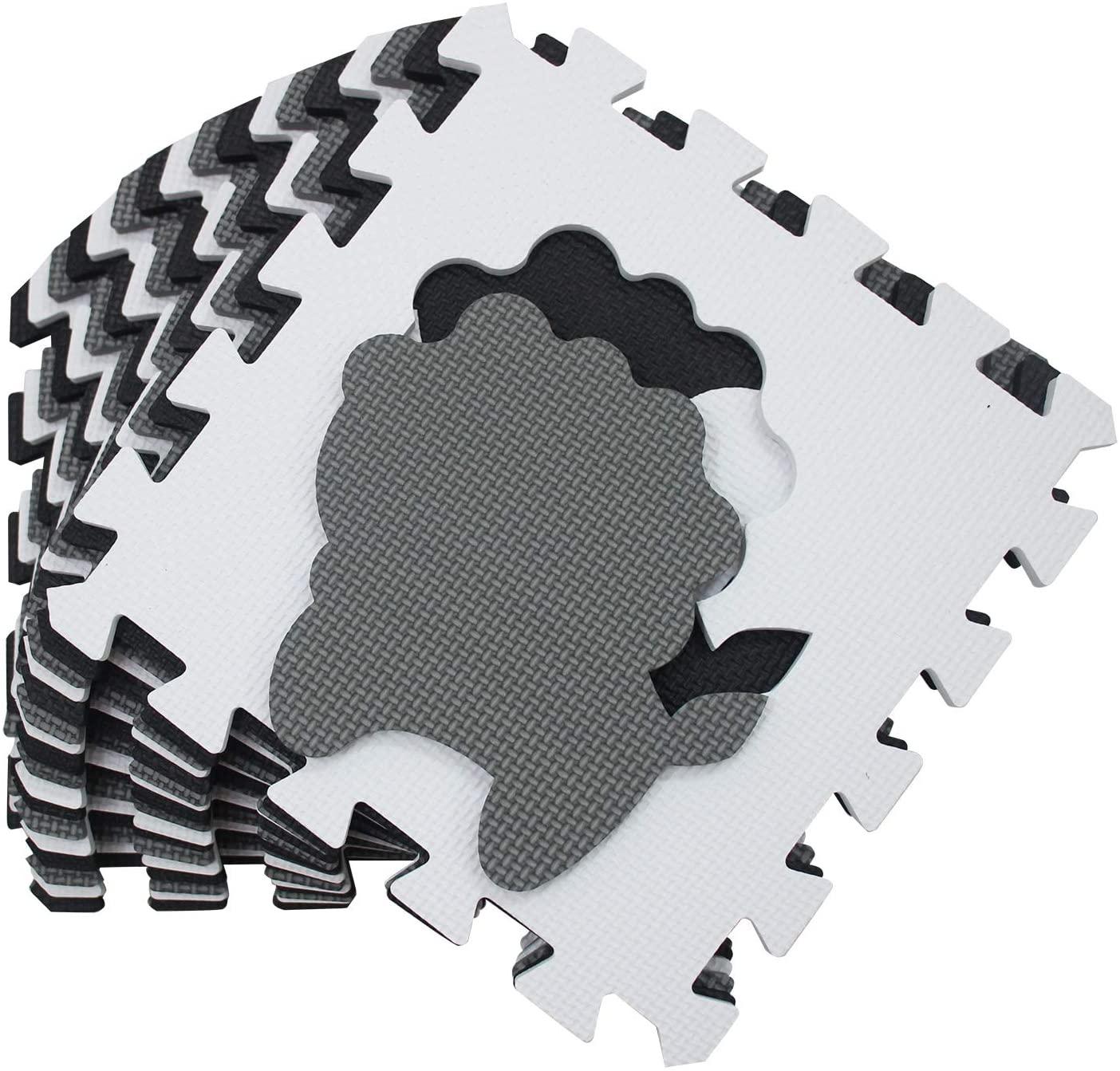 Alfombra puzzle 18 piezas solo 11.6€