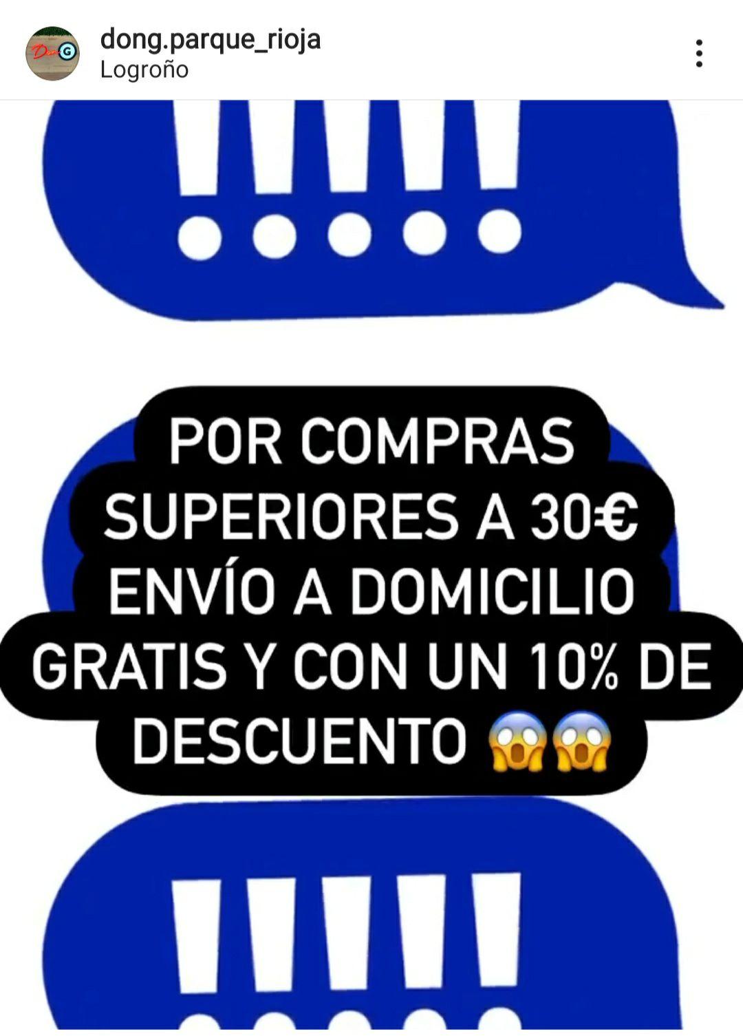 Envio gratis y 10% Don G Logroño