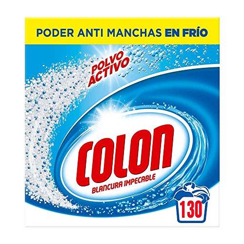 Detergente polvo blanco 130 dosis solo 9.1€