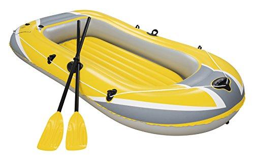 Barca raft naviga para 2 personas, con remos y bomba de pie