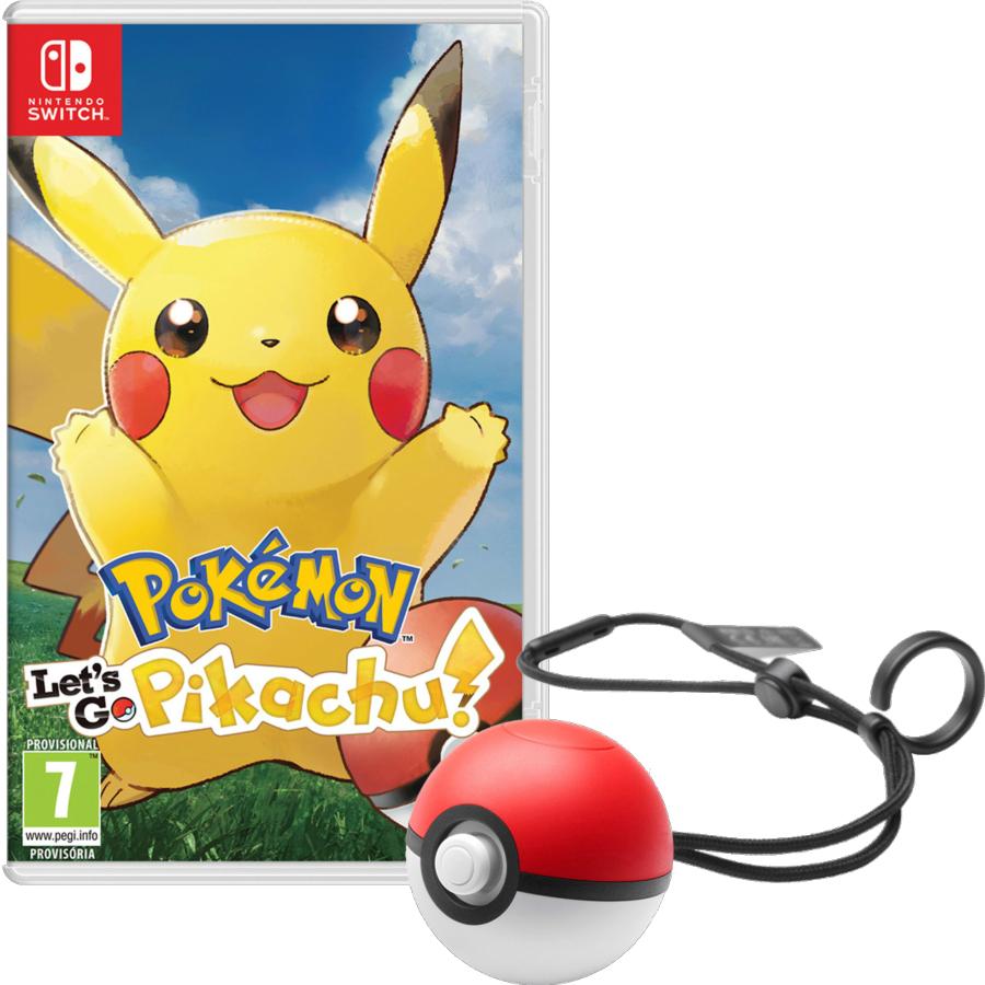 Nintendo Switch Pokémon Let's Go Pikachu! + PokéBall Plus