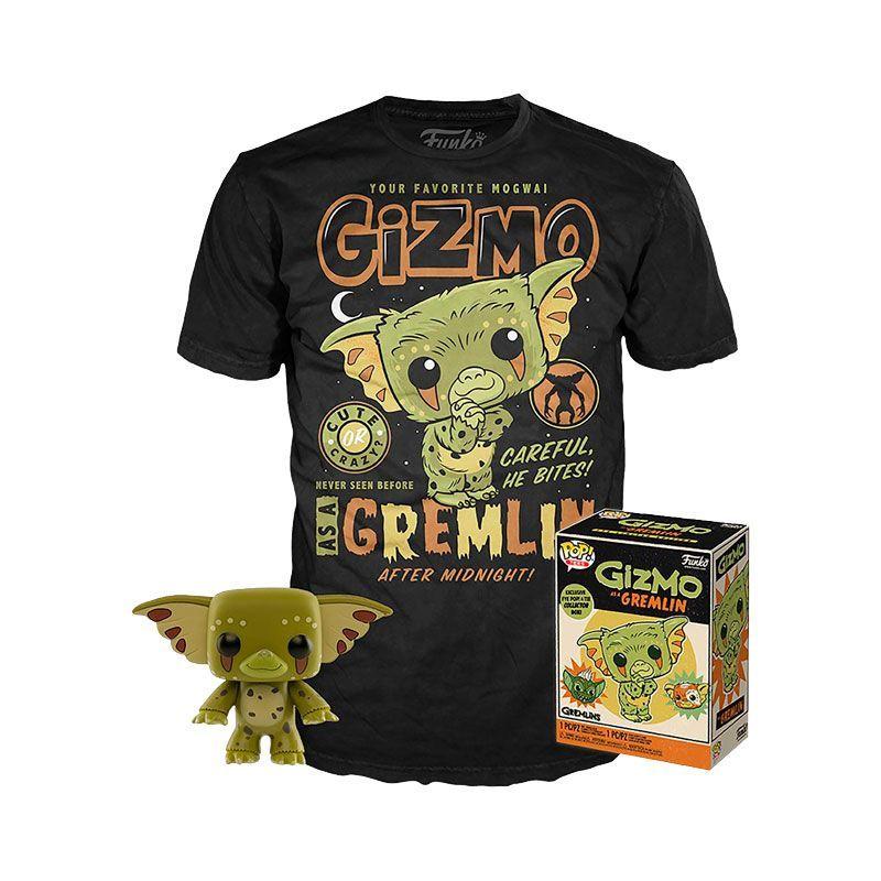 FUNKO Exclusivo Gremlins Gizmo + Camiseta S a XL