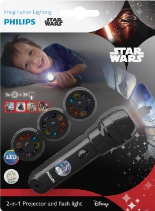 Philips linterna y Proyector infantil STAR WARS