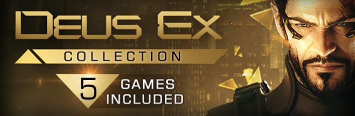 Pack con todos los Deus Ex (Ofertas de hallowen Steam)
