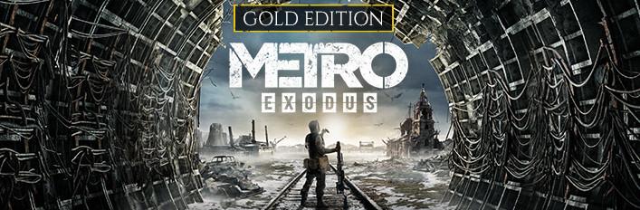 METRO EXODUS GOLD EDITION - STEAM (ofertón)
