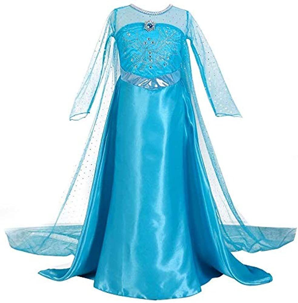 Disfraz de Elsa de Frozen de 2 a 8 años