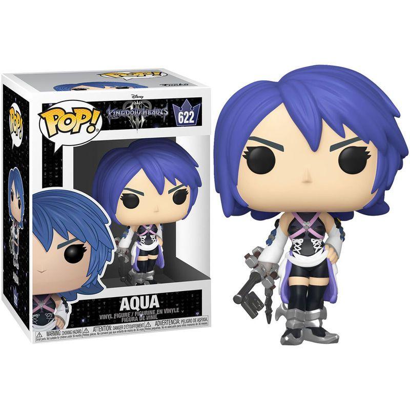 Funko Pop Disney: Kingdom Hearts 3-Figura Aqua