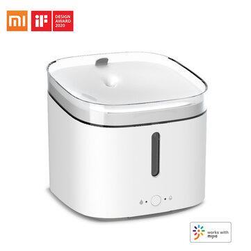 Dispensador de agua automático inteligente para mascotas Xiaomi Mijia 2L Control de la aplicación Mijia