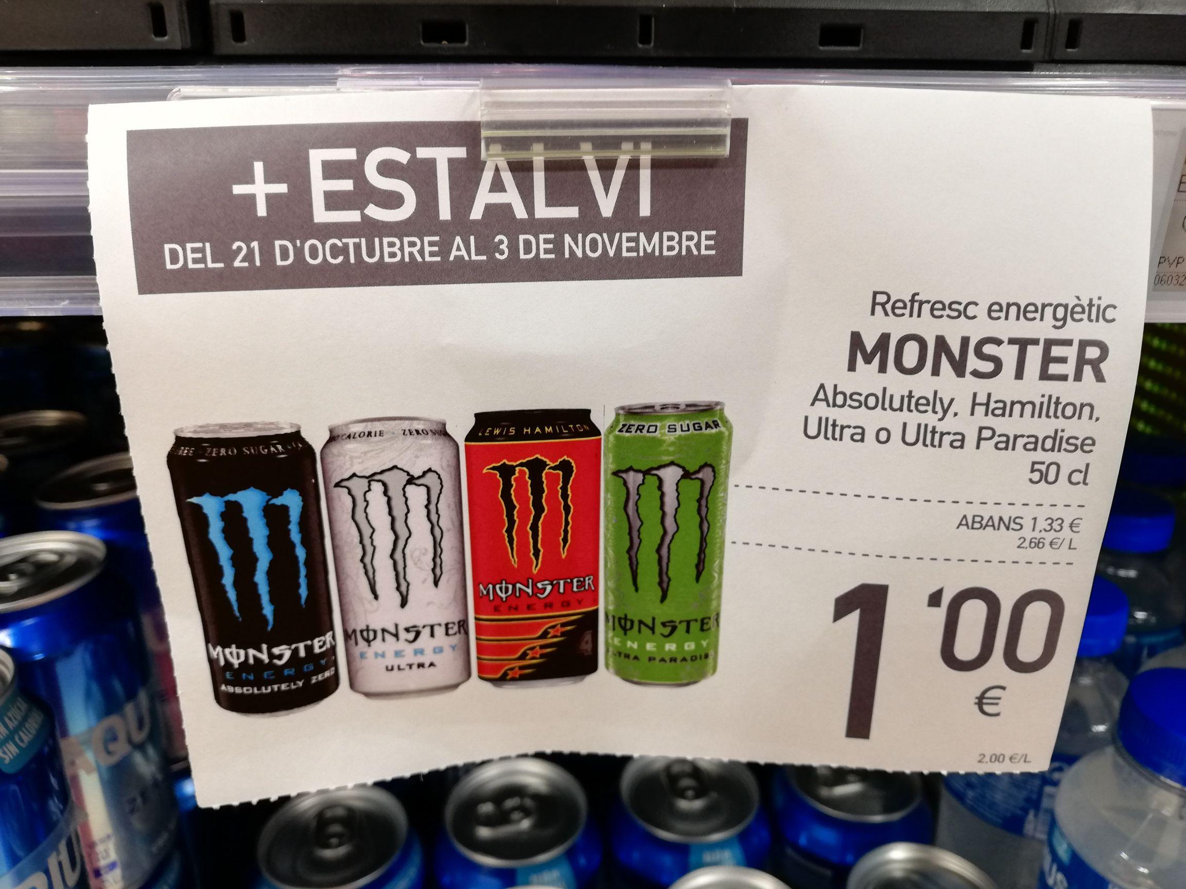 MONSTER ENERGY 1€