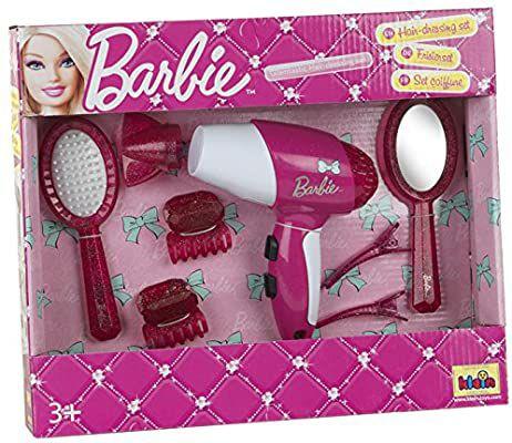 Barbie set peluquero con secador y accessorios