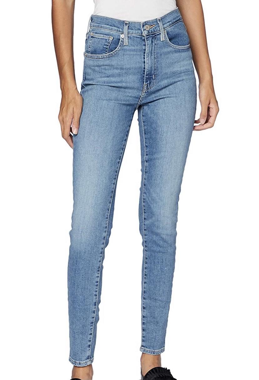 Talla 24W/32L jeans Levi's Mile High Super Skinny