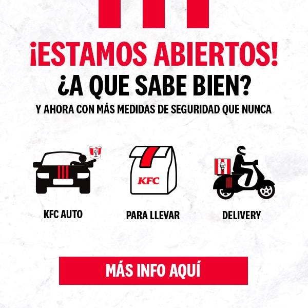 Descuentos en KFC con códigos del Leganés