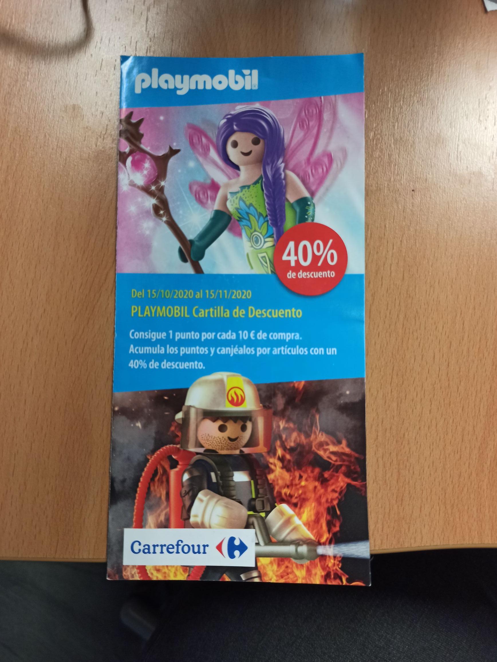 Playmobil - 40% descuento selección Carrefour