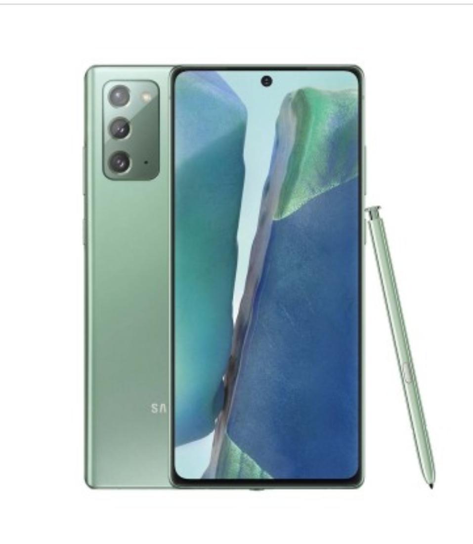 ¡MÍNIMO HISTÓRICO! Samsung Galaxy Note 20 4G N980 8GB/256GB Dual Sim - Mystic Verde con Protector de Pantalla de Vidrio Templado