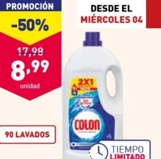 Detergente Líquido Colon para ropa blanca y de color(0.10€ lavado) y + Ofertas