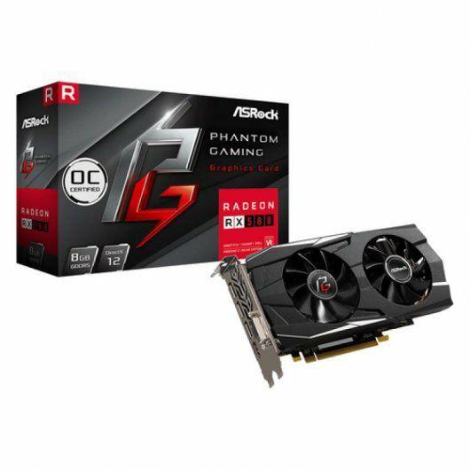 Tarjeta gráfica AMD AsRock Phantom Gaming D Radeon RX580 OC 8GB GDDR5 (Reacondicionada)