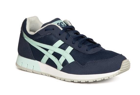 Asics Sneaker Curreo, azul marino/verde menta talla 36