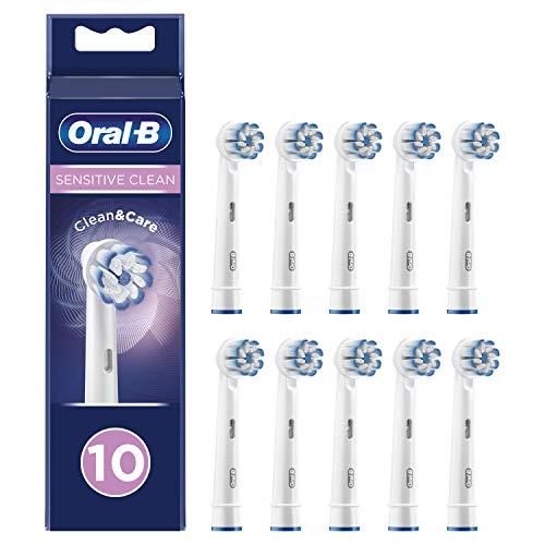Oral-B Sensitive Clean Cabezales de recambio, Pack de 10