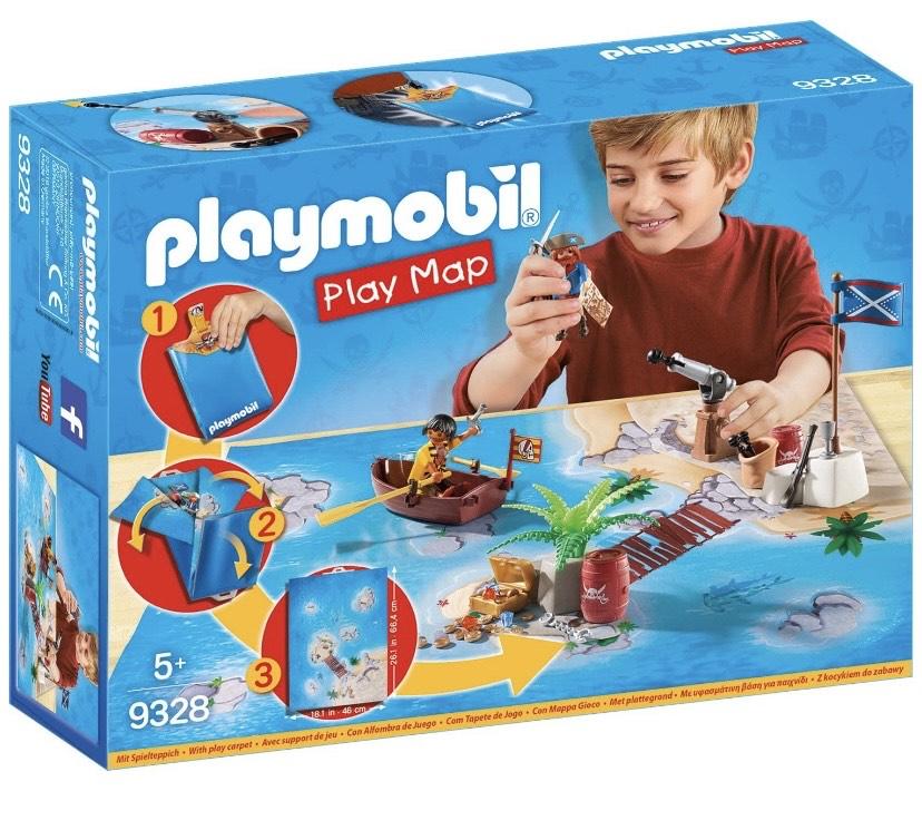 PLAYMOBIL- Play Map Piratas del Caribe
