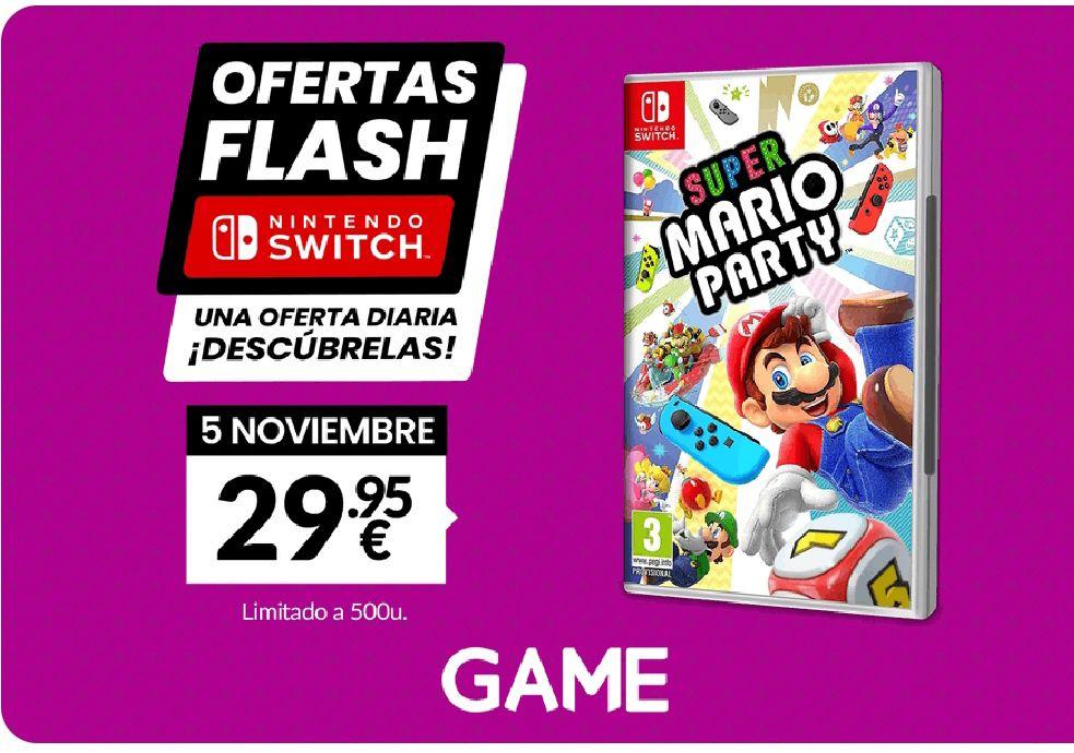 Oferta Flash Game Super Mario Party