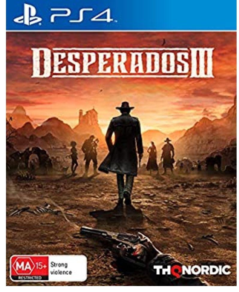 Desperados III - PS4 *Mínimo histórico*