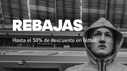 Hasta 50% de descuento en Adidas fútbol