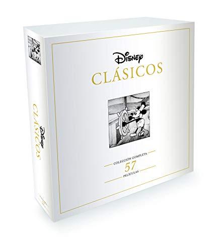 Disney Clásicos - Colección completa 57 películas [DVD] - Edición Exclusiva de Amazon