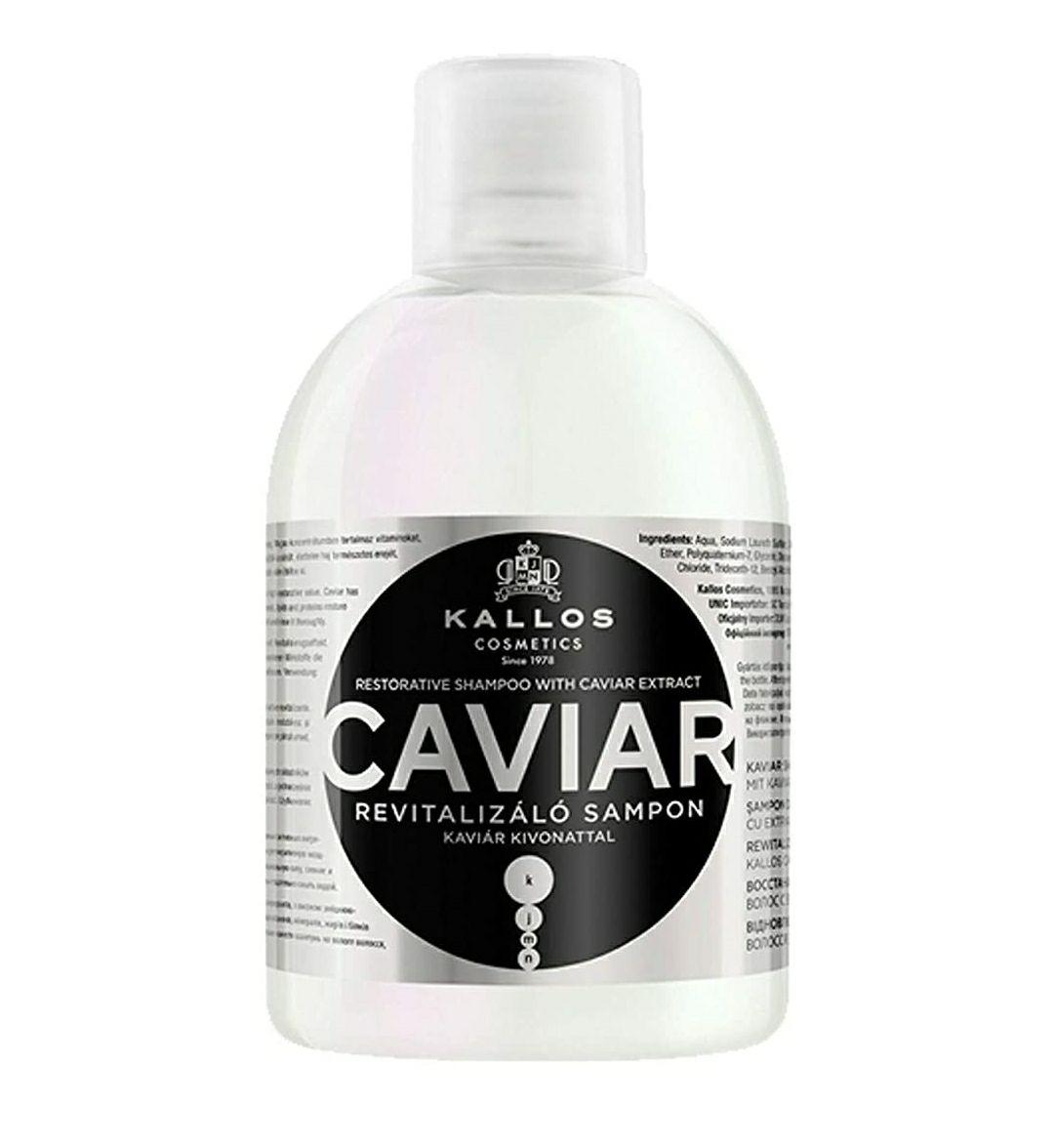 Champú para mujer marca Kallos - Caviar Restorative 1000 ml (Sin stock pero deja pedir)