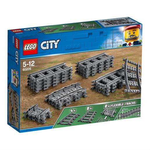 Vías LEGO City