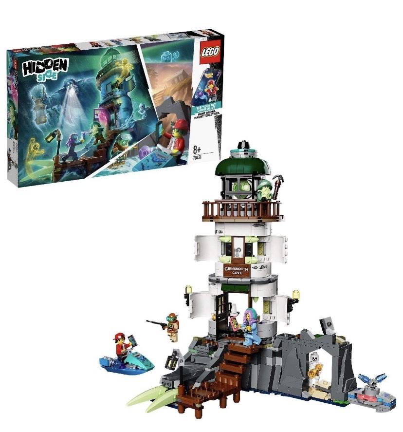 LEGO Hidden Side - Faro de la Oscuridad,