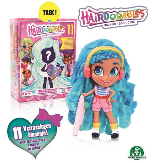 Blister con muñeca Hairdorables sorpresa de la serie 2