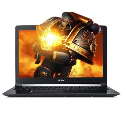 Acer Aspire 7  i7-7700HQ, 8GB DDR4, GTX 1050 Ti, 128GB +1TB