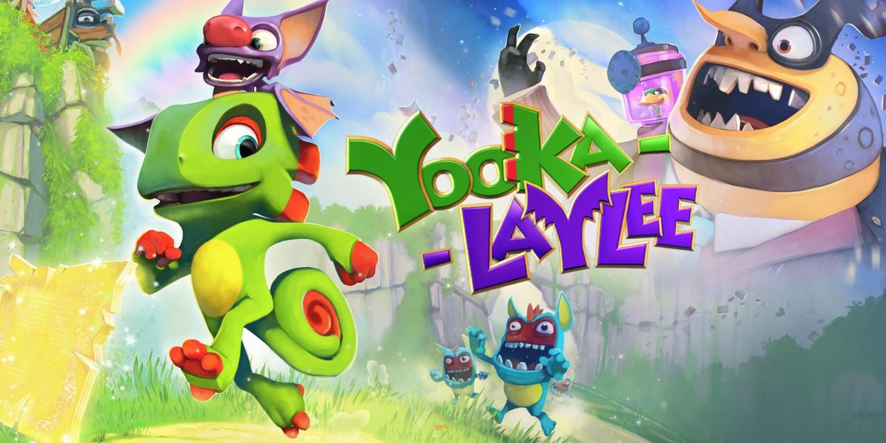 Yooka-Laylee (Nintendo Switch). Eshop Sudráfica