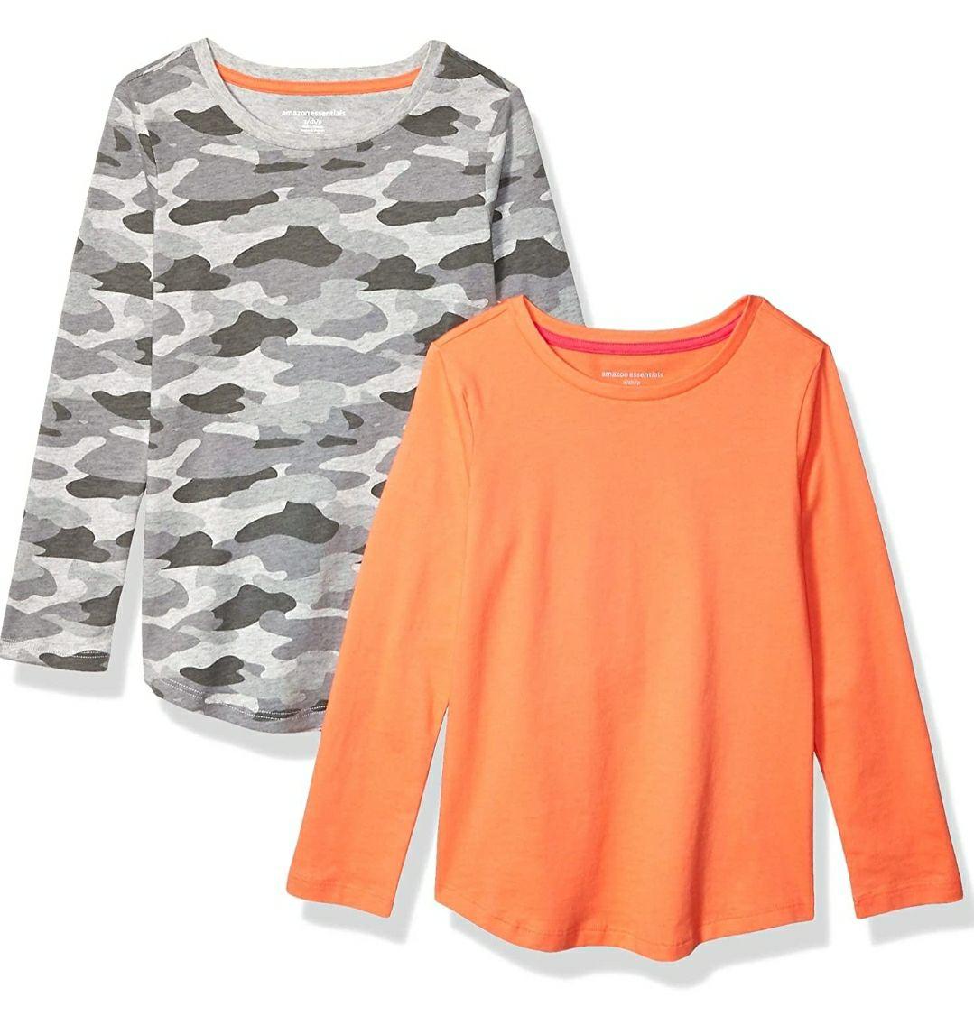 Pack 2 camisetas niñas, manga larga (Talla 8 años)
