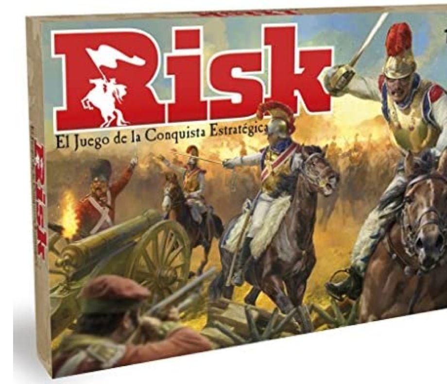 Hasbro Gaming Juego de mesa Risk, Hasbro