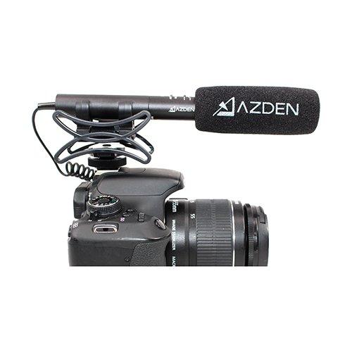 AZDEN SMX-10 Microfono Estero para Cámara Réflex * CHOLLACO *