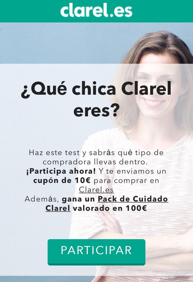 10€ GRATIS por compras superiores a 20€ en Clarel