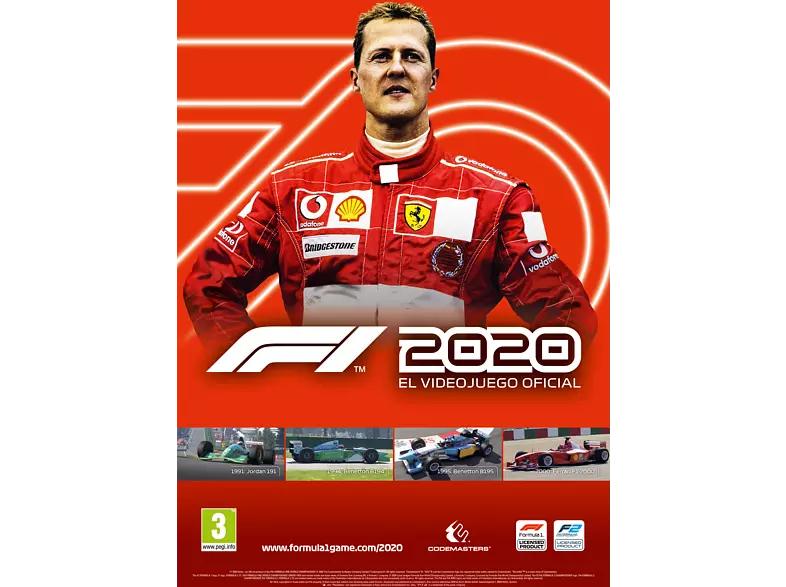 Póster Videojuego F1 2020 Schumacher