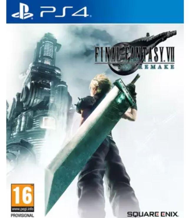 PS4 Final Fantasy VII Remake *Mínimo histórico*