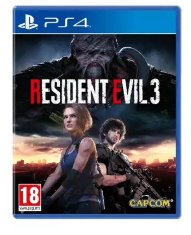 Resident Evil 3 (Remake) Ps4/Xbox *Mínimo histórico*
