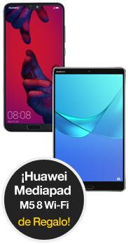 P20 Pro twilight + MediaPad M5 8 Wi-FiCon orange