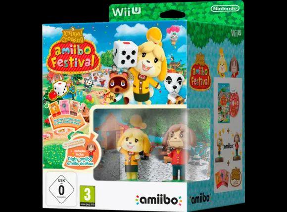 Wii U Animal Crossing: Amiibo Festival